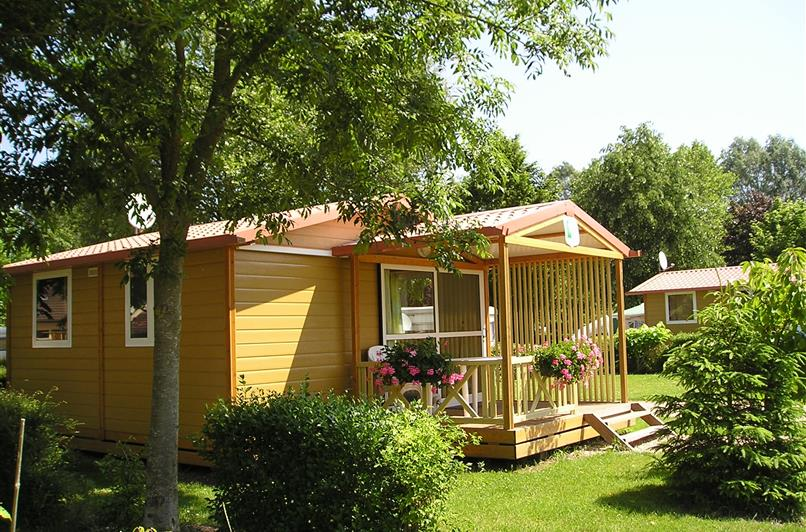 Location Chalet 5 personnes - Camping Rouen